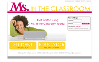 Ms. in the Classroom thumb